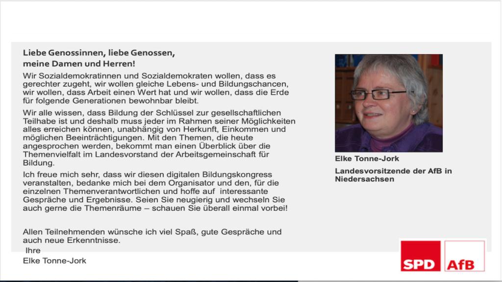 Bildungskongress der AfB Niedersachsen 2021, Seite 2