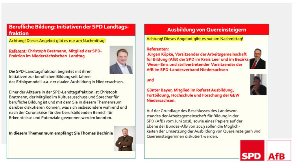 Kongressmappe S.10 - Berufliche Bildung - Initiativen der Landtagsfraktion /  Ausbildung von Quereinsteiger:innen