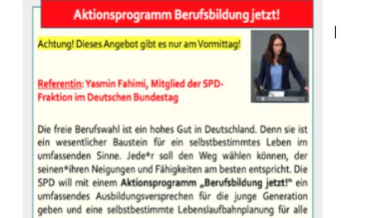 Bildungskongress der AfB: Aktionsprogramm Berufsbildung jetzt!