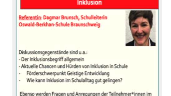 Bildungskongress derAfB am 26.06.2021: Inklusion